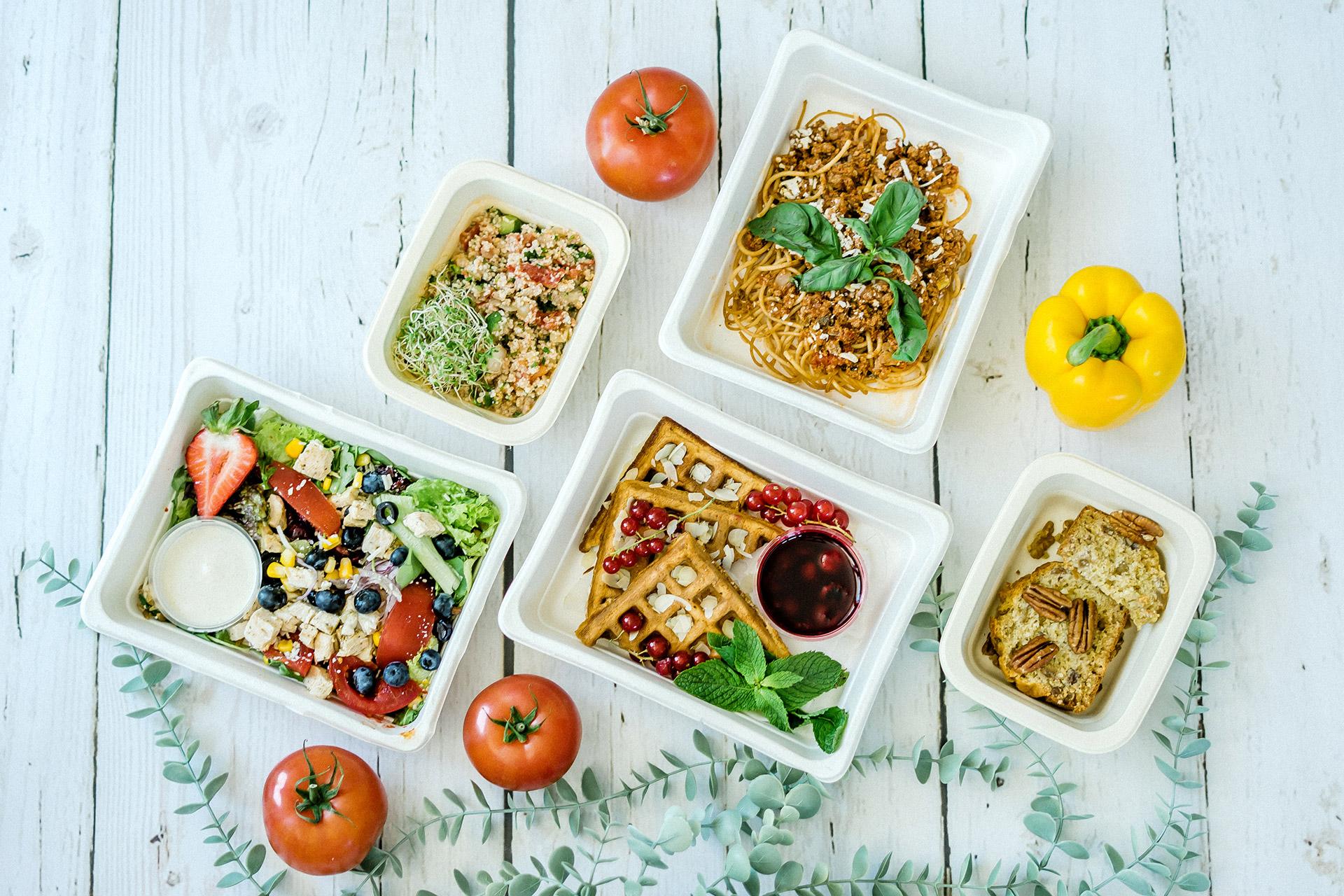 Przykładowy zestaw diety pudełkowej